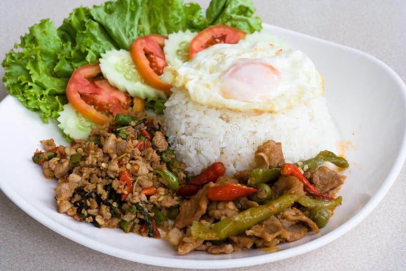 Alimento tailandese immagini stock