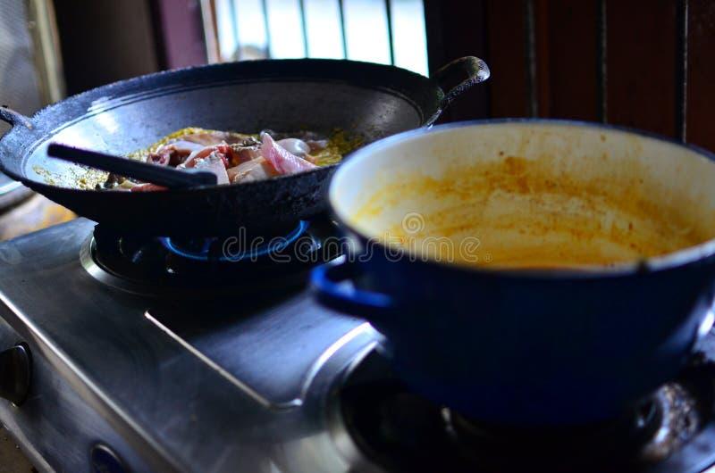 Alimento tailandese di stingray fotografia stock libera da diritti