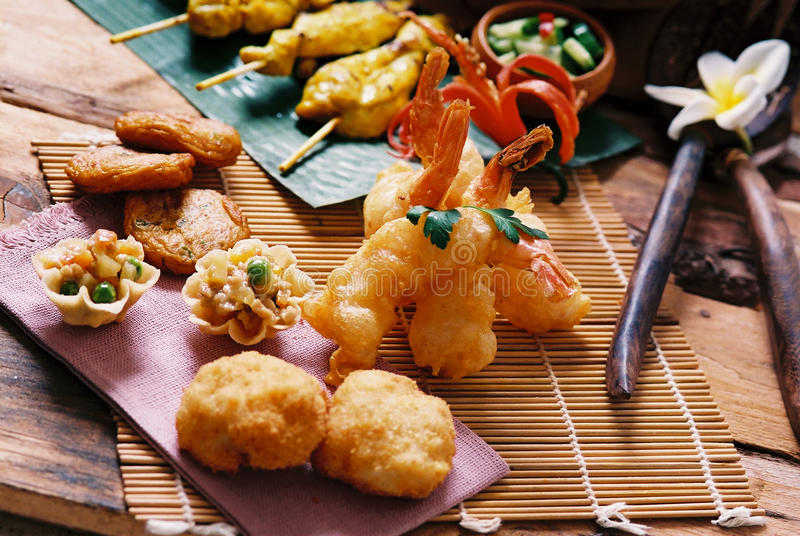 Alimento tailandese - entrata fotografia stock libera da diritti