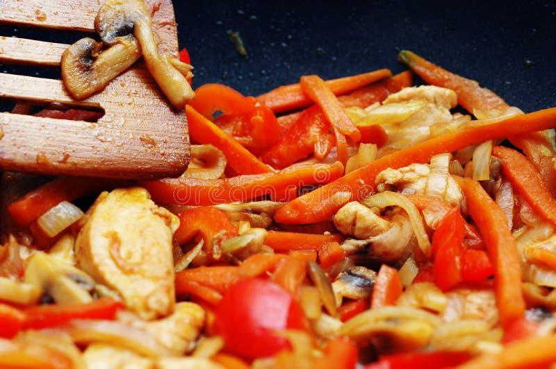 Alimento Tailandese - Frittura Di Scalpore Fotografie Stock Gratis