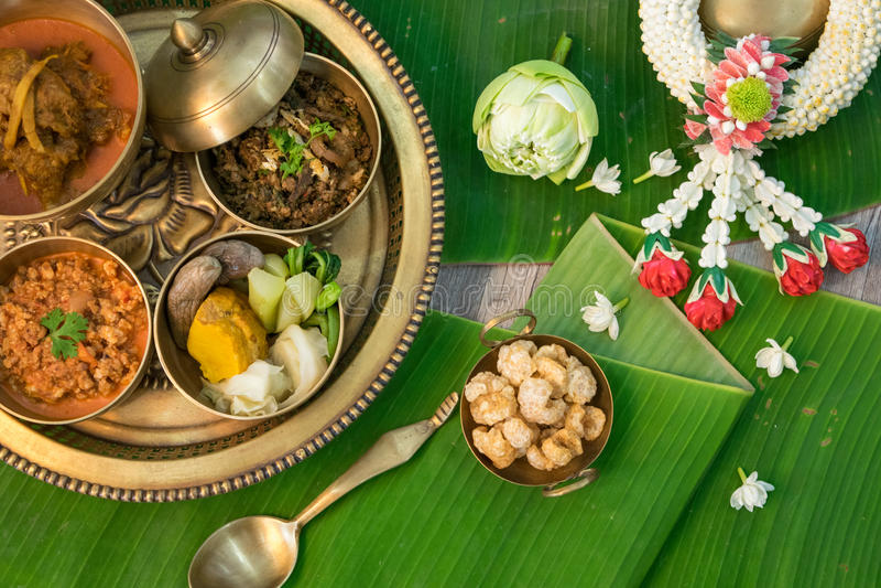 Alimento tailandese nordico fotografie stock libere da diritti