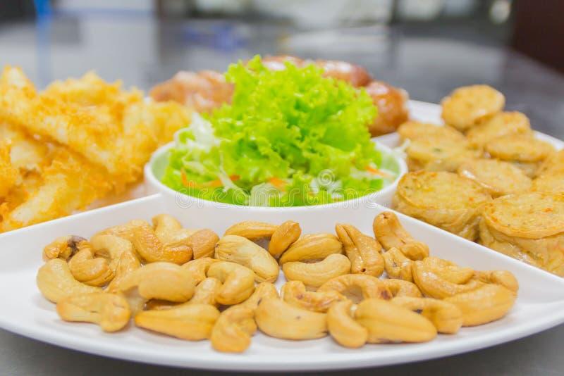 Alimento tailandese, opere del nord del ` di Hors d fotografie stock