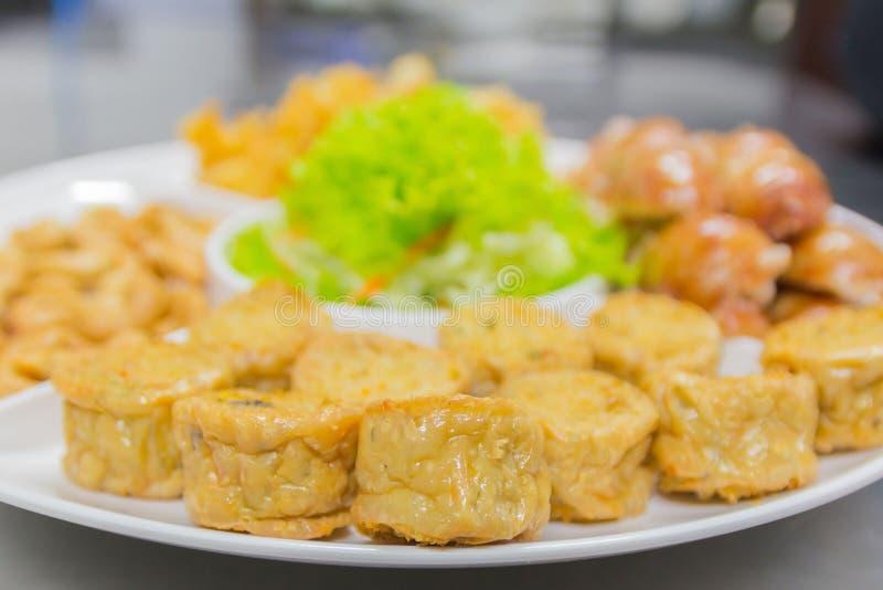 Alimento tailandese, opere del nord del ` di Hors d fotografia stock