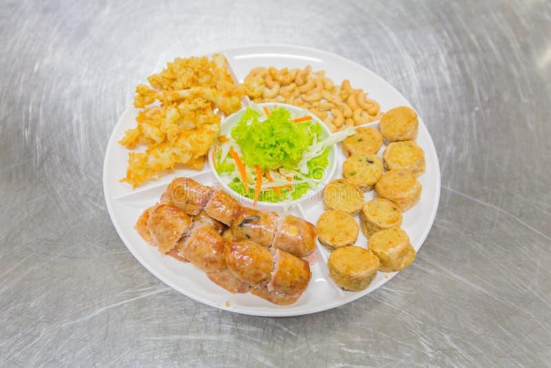 Alimento tailandese, opere del nord del ` di Hors d immagine stock libera da diritti