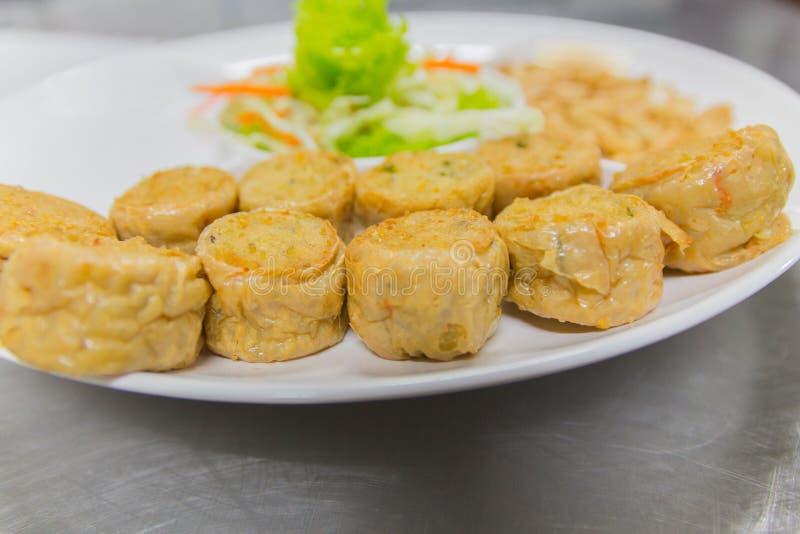 Alimento tailandese, opere del nord del ` di Hors d fotografia stock libera da diritti