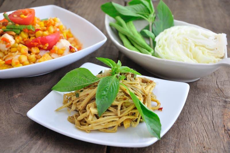 Alimento tailandese piccante fotografia stock libera da diritti