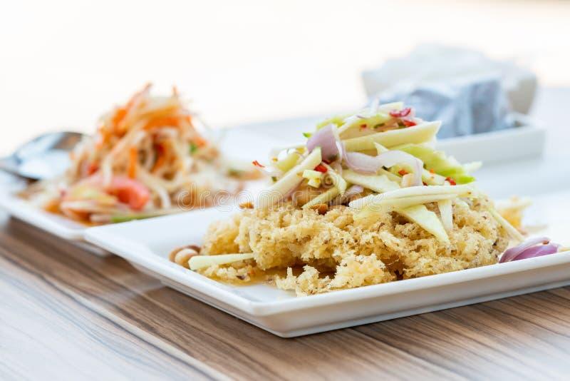 Alimento tailandese sano fotografie stock