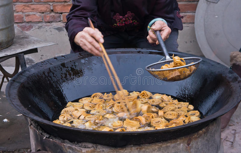 Alimento tradicional chinês fotografia de stock royalty free