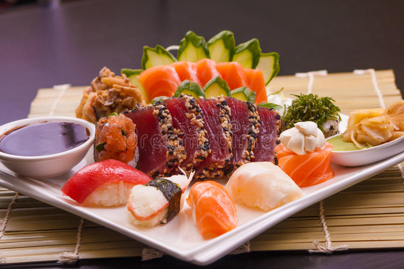 Alimento tradicional de Japonese fotografia de stock royalty free
