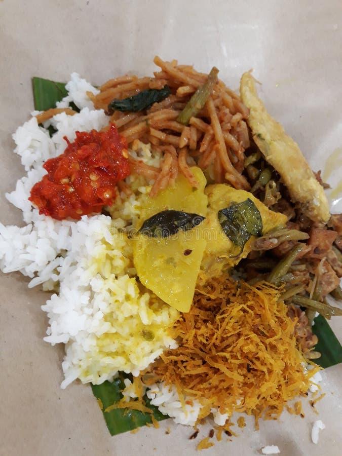 Alimento tradicional de Malaysia fotos de stock royalty free