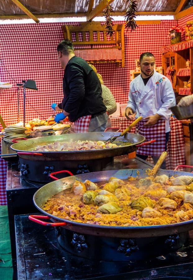 Alimento tradicional do Hungarian do Natal imagem de stock royalty free
