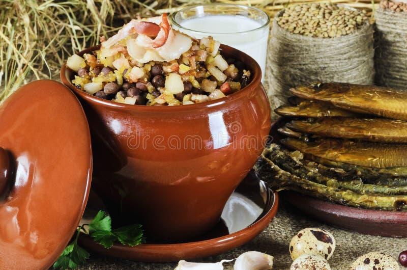 Alimento tradicional letão imagem de stock royalty free