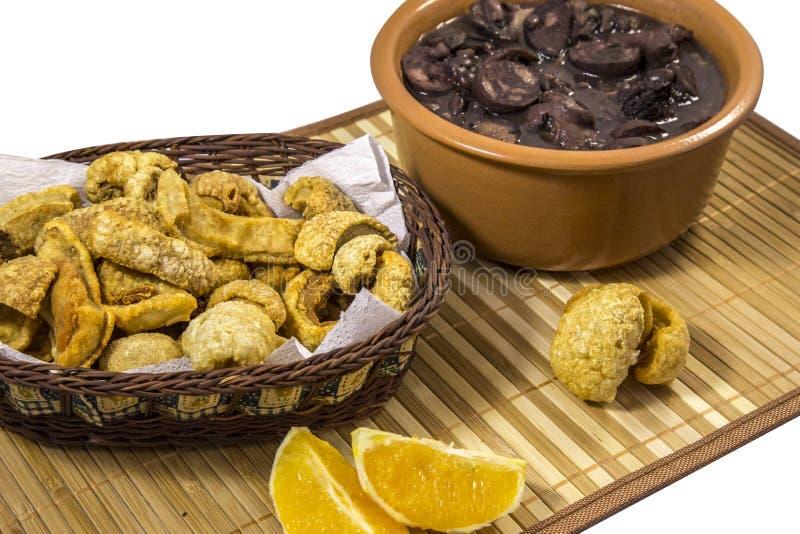 Alimento tradizionale brasiliano di Feijoada fotografia stock libera da diritti