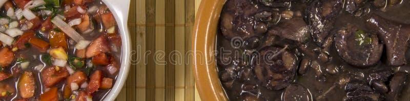 Alimento tradizionale brasiliano di Feijoada immagini stock