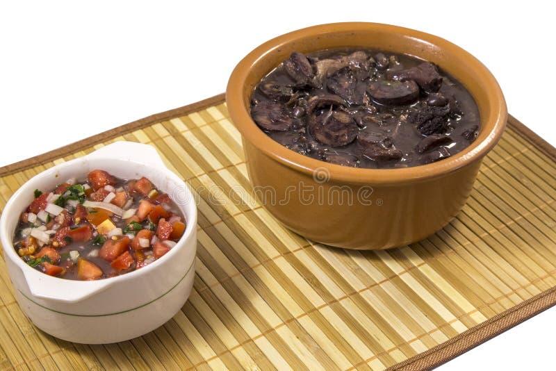 Alimento tradizionale brasiliano di Feijoada immagini stock libere da diritti