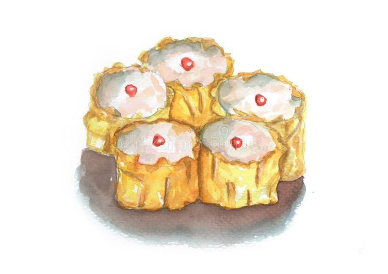 Alimento tradizionale cinese di Dimsum immagini stock libere da diritti