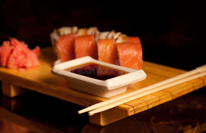 Alimento tradizionale del Giappone immagine stock libera da diritti