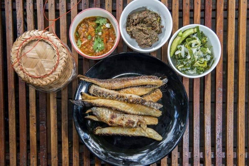 Alimento tradizionale della Tailandia immagine stock