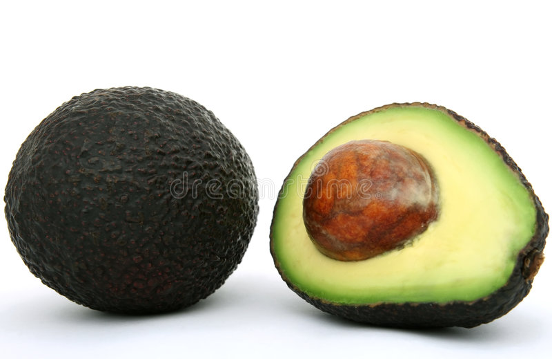 Alimento tropicale fresco, di avocado sano fotografie stock libere da diritti