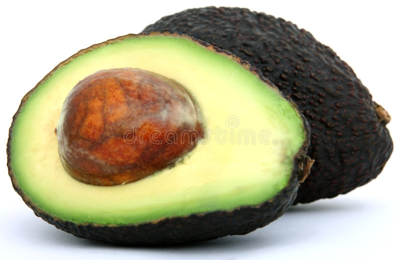 Alimento tropicale fresco, di avocado sano fotografia stock libera da diritti