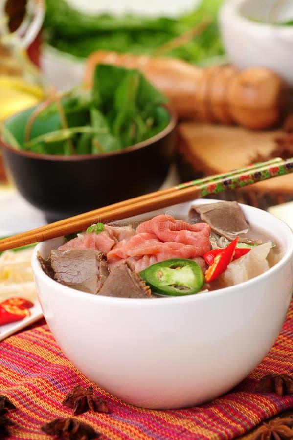 Download Alimento vietnamiano foto de stock. Imagem de basil, tomate - 10065224