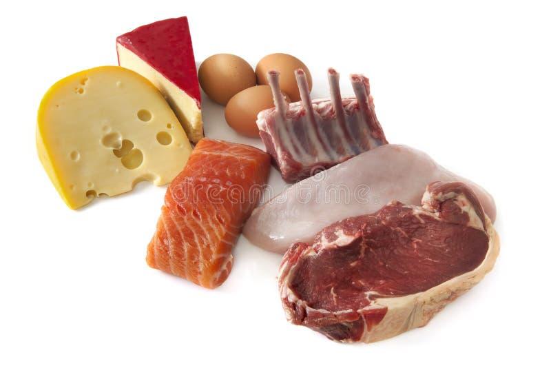 Alimentos da proteína fotos de stock