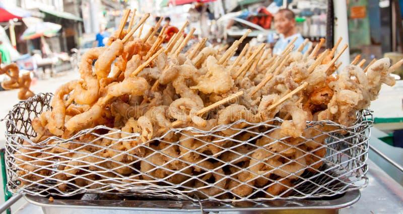 Alimentos da rua nas Filipinas fotos de stock