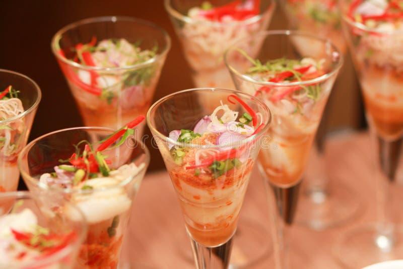 Alimentos das decorações. imagem de stock royalty free