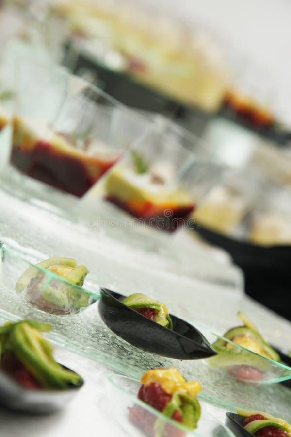 Alimentos de dedo imagem de stock royalty free