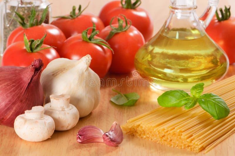Alimentos de Italiano imagen de archivo