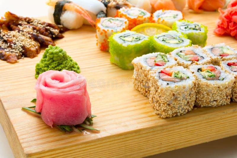 Alimentos de marisco asiáticos fotos de archivo libres de regalías