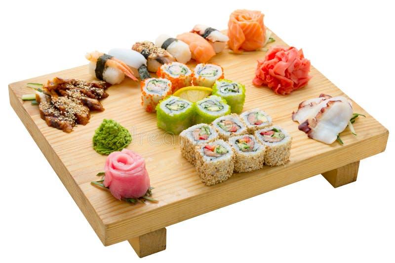 Alimentos de marisco asiáticos imagen de archivo