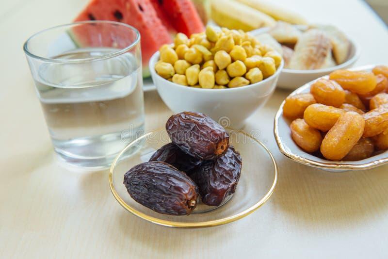 Alimentos de preparación rápida del Ramadán