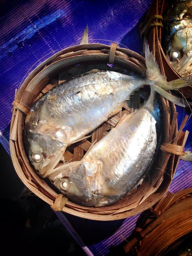 Alimentos de Tailândia dos fishs da cavala foto de stock royalty free