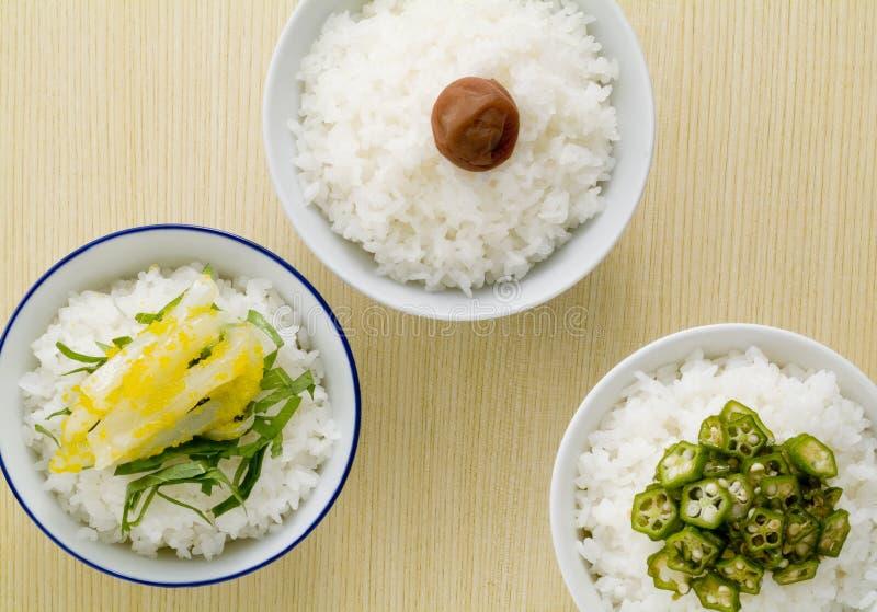 Alimentos japoneses foto de archivo libre de regalías