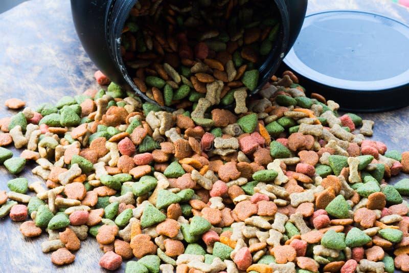 Alimentos para animais de estimação fotografia de stock