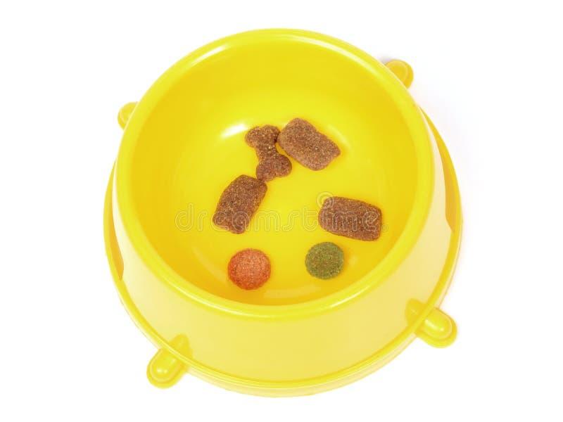 Alimentos para animais domésticos fotografia de stock