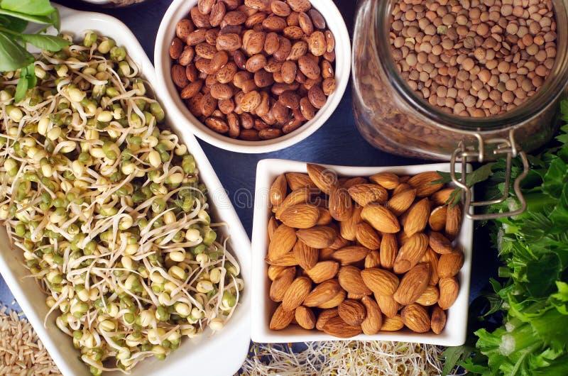 Alimentos sanos fotografía de archivo libre de regalías