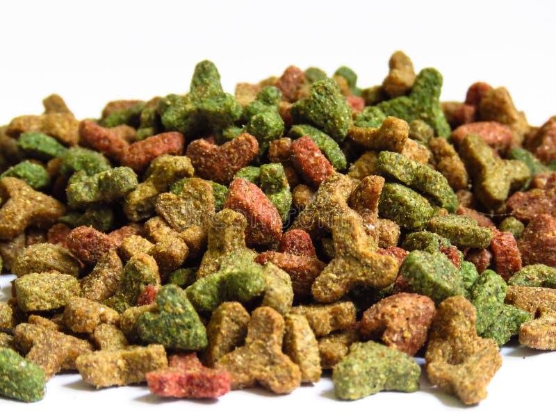 Alimentos secos para gatos imagem de stock royalty free