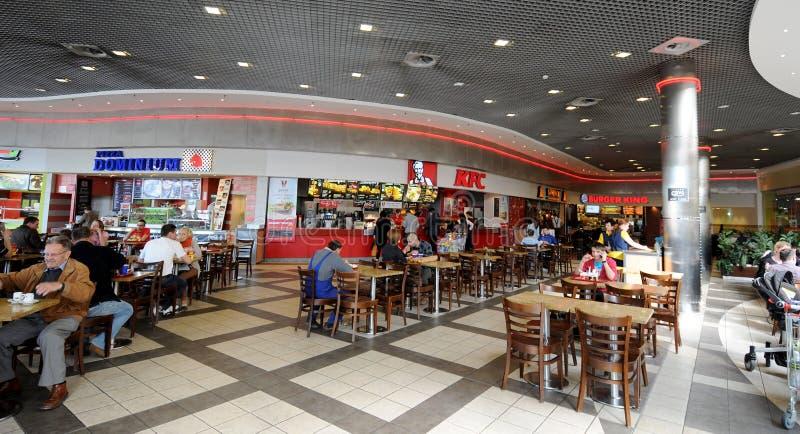 Aliments de préparation rapide à Cracovie images libres de droits
