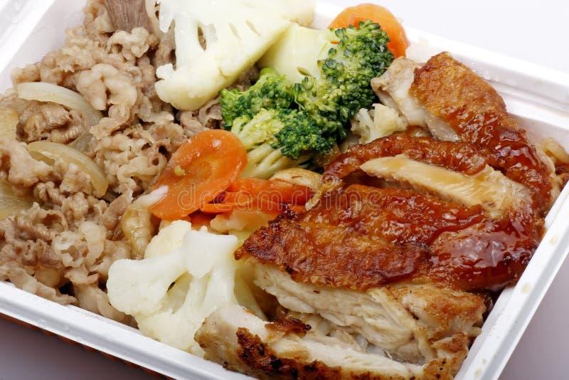 Aliments de préparation rapide chinois photos stock
