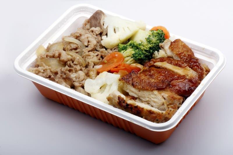 Aliments de préparation rapide chinois. photos libres de droits