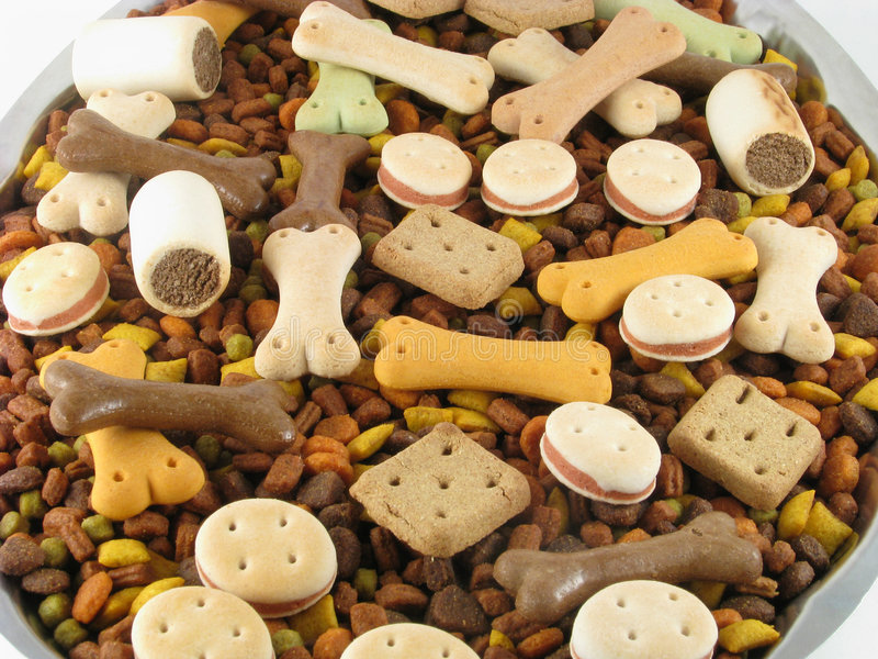 Aliments pour animaux photos stock