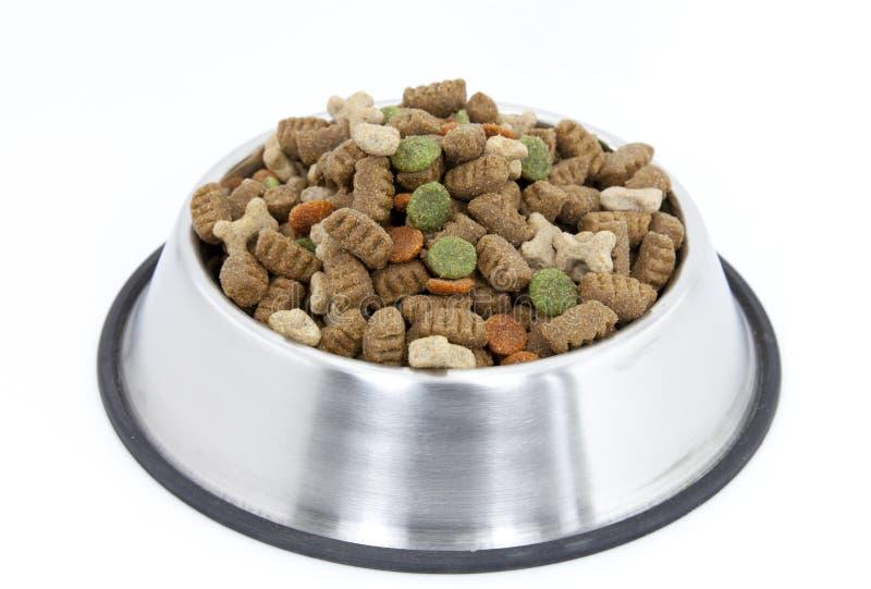 Aliments pour chiens images stock