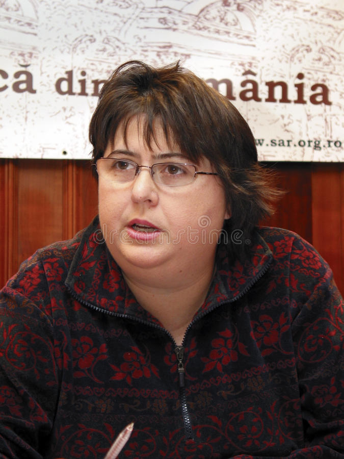 Alina mungiu-Pippidi obrazy stock
