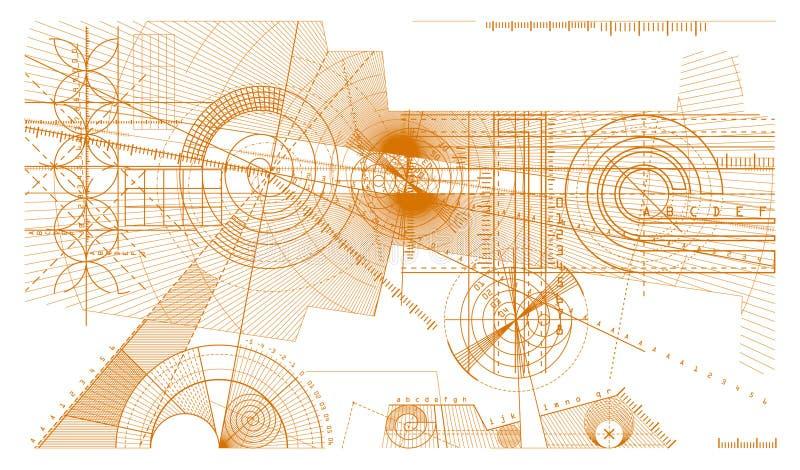 Alinea el fondo ilustración del vector