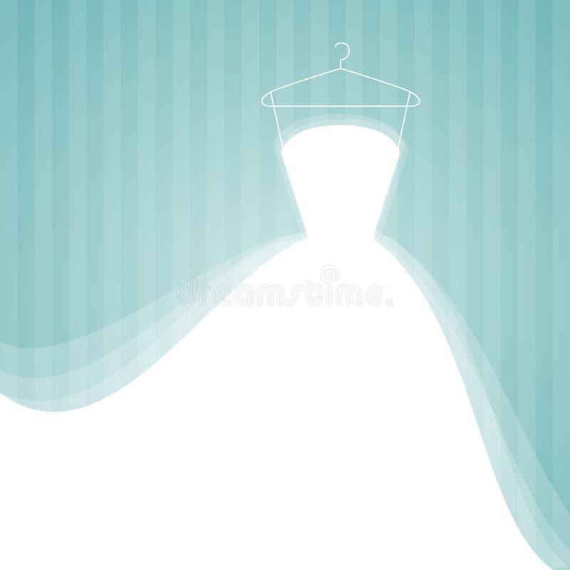 Alineada de boda ilustración del vector