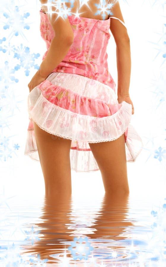 Download Alineada rosada imagen de archivo. Imagen de bebé, provocativo - 7277927