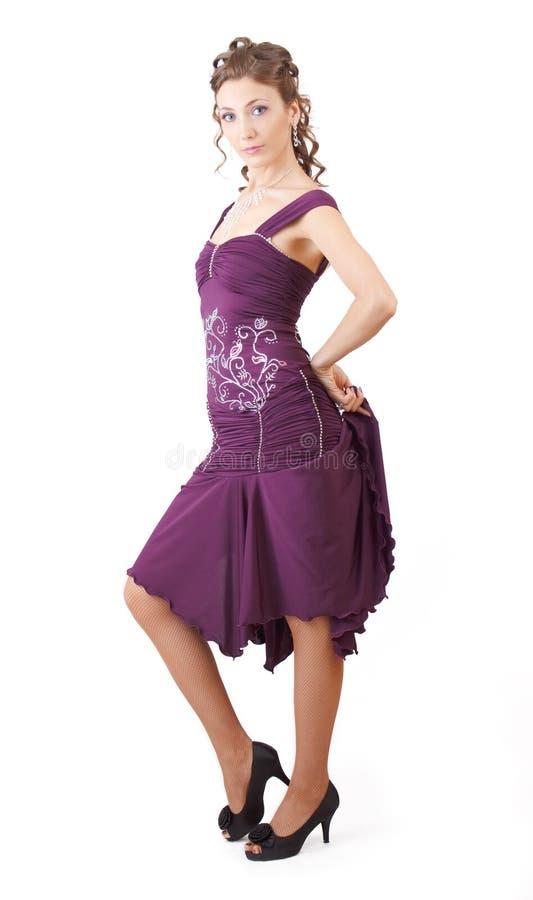 Alineada violeta. foto de archivo