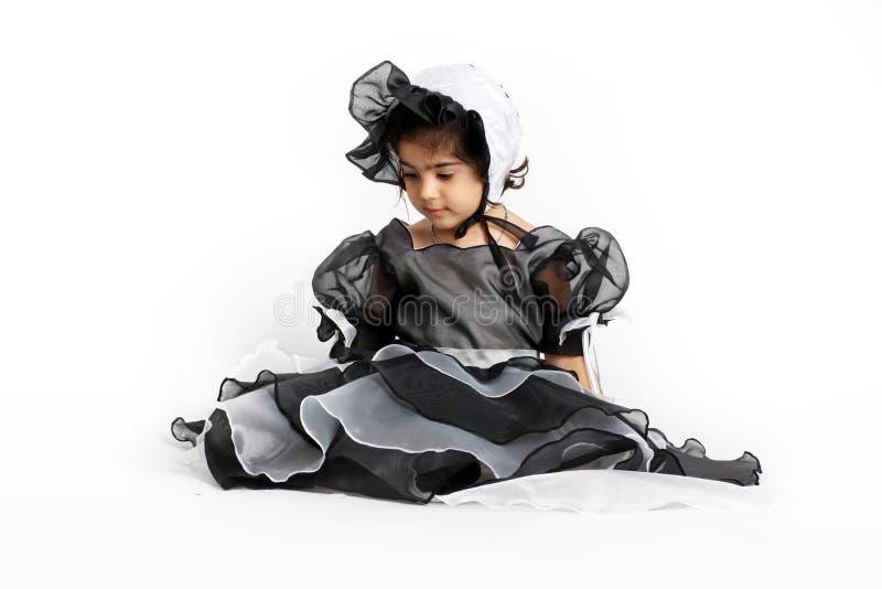alineada y capo de la princesa imagen de archivo